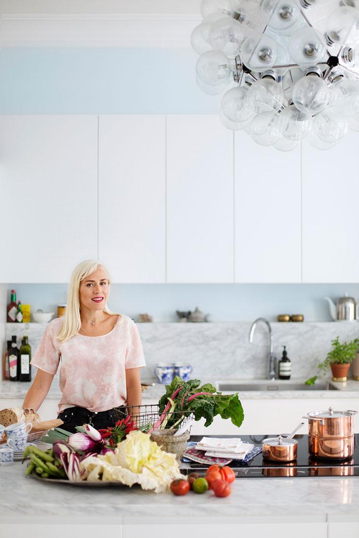 Пастельная элегантность: квартира блогера в Стокгольме