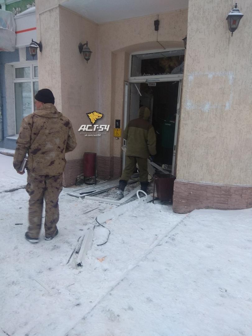 В Новосибирске прогремел взрыв в отделении банка