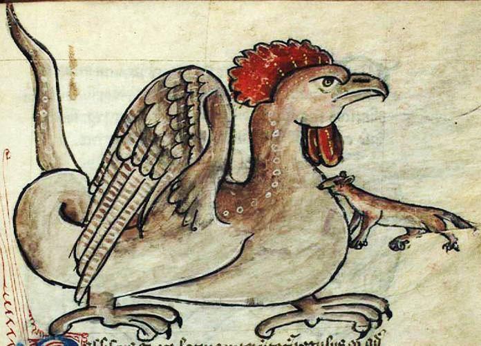 Легенды о чудовище Василиске из Римских катакомб