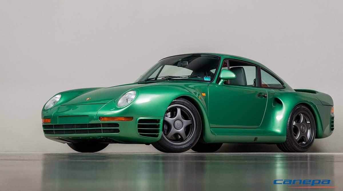 Старый Porsche 80-х превратили в современный суперкар