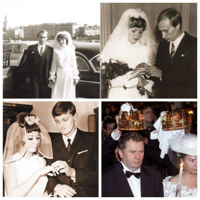 Как женились и разводились советские и российские знаменитости: фото
