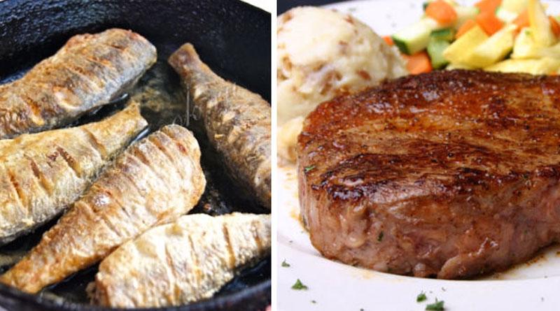 11 советов жарки рыбы и мяса