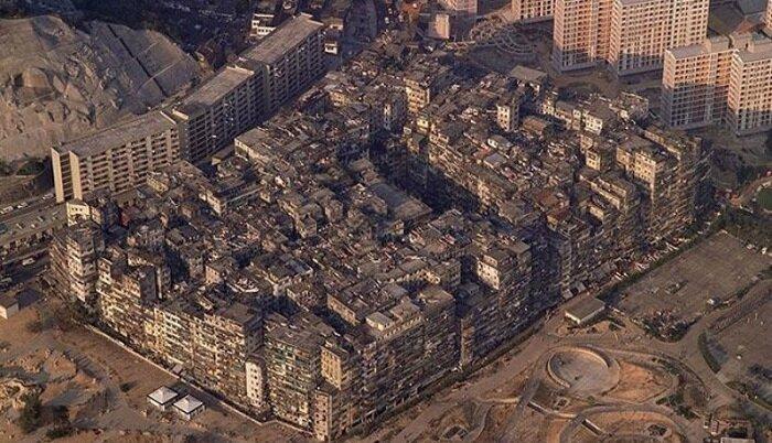 Печальная история китайского города-крепости Коулуна, который снесли в 1994 году