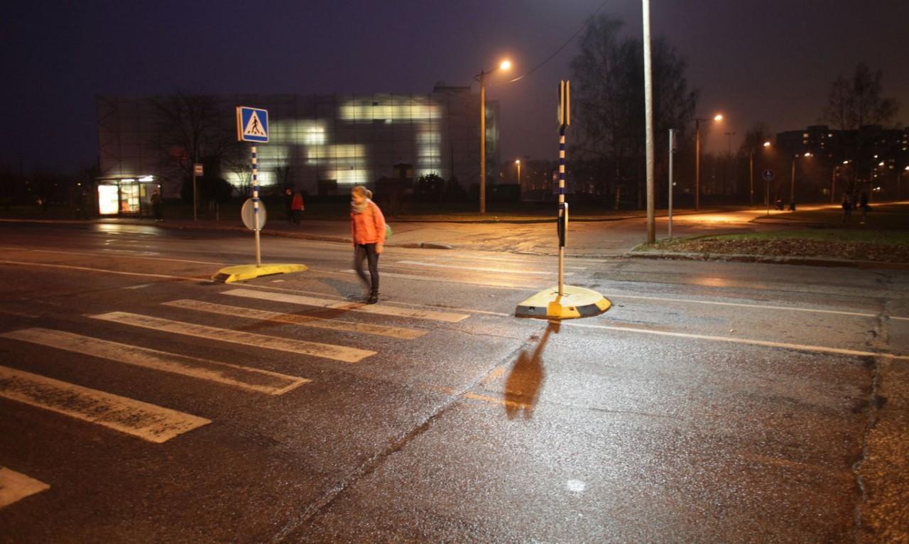 Защита для пешеходов: зебру скрестят с лежачим полицейским