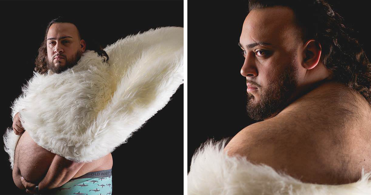 Wife Refuses Maternity Photoshoot, So Husband Does It Instead