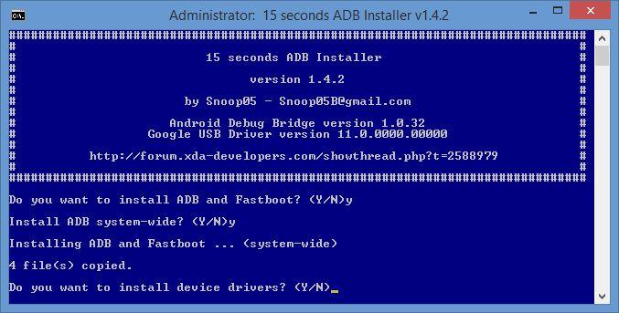 adb-fastboot-installer