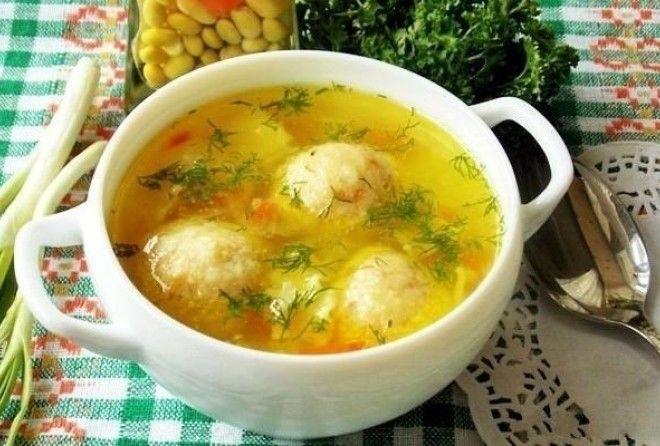Самый модный суп с сырными ш…