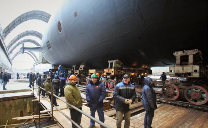 новейшая российская бесшумная подводная лодка
