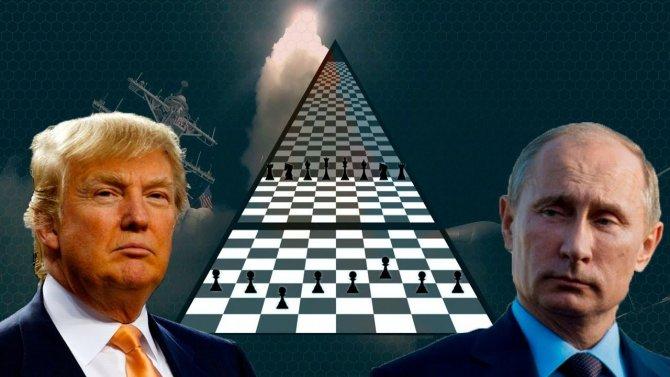 Гроссмейстер Путин мастерски…