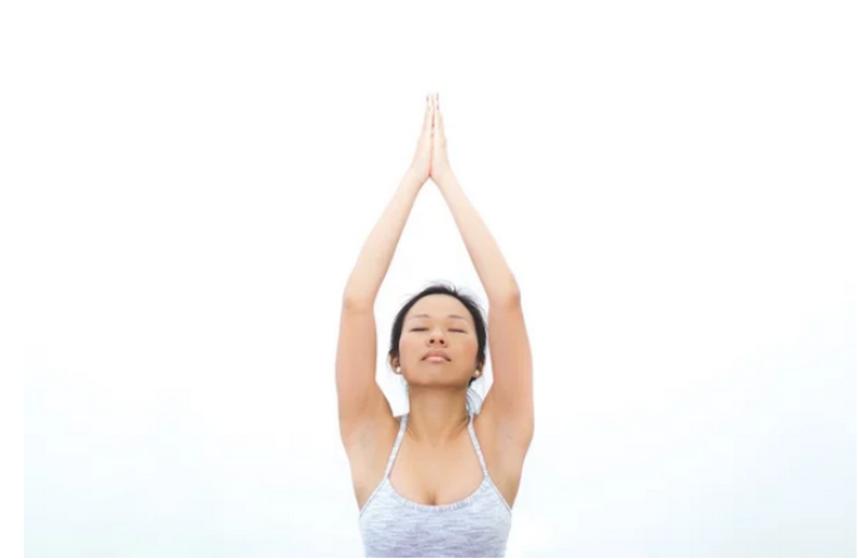 Убираем обвислости на руках и лишний жир: Упражнение «Ладошки»