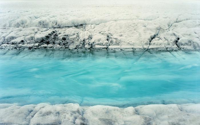 Бирюзовое озеро.