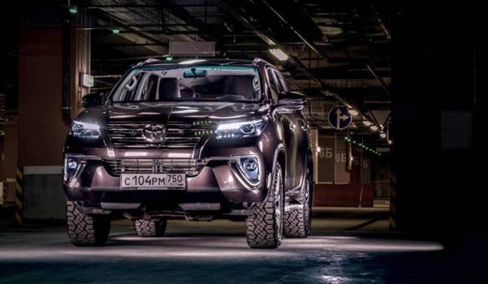 Toyota Fortuner: фортуна нуж…