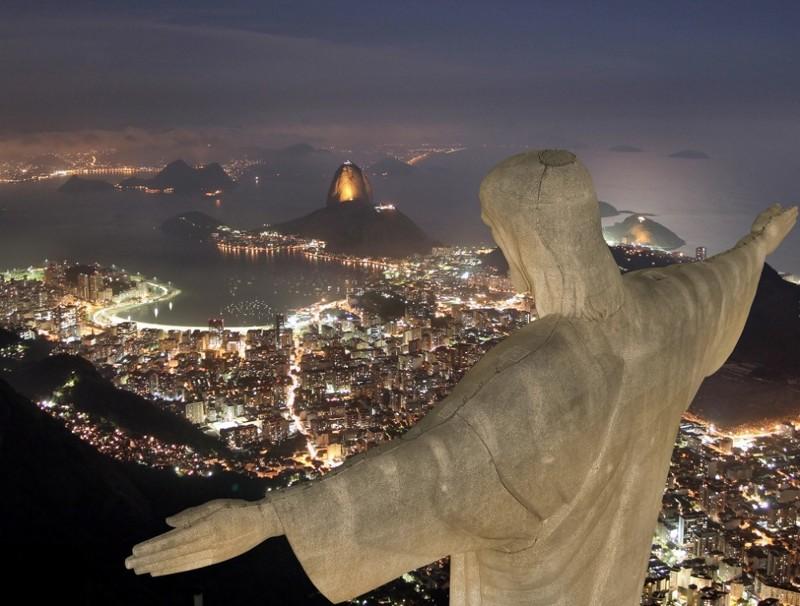 Гора Корковадо, Рио-де-Жанейро, Бразилия дух, захватывает, красота
