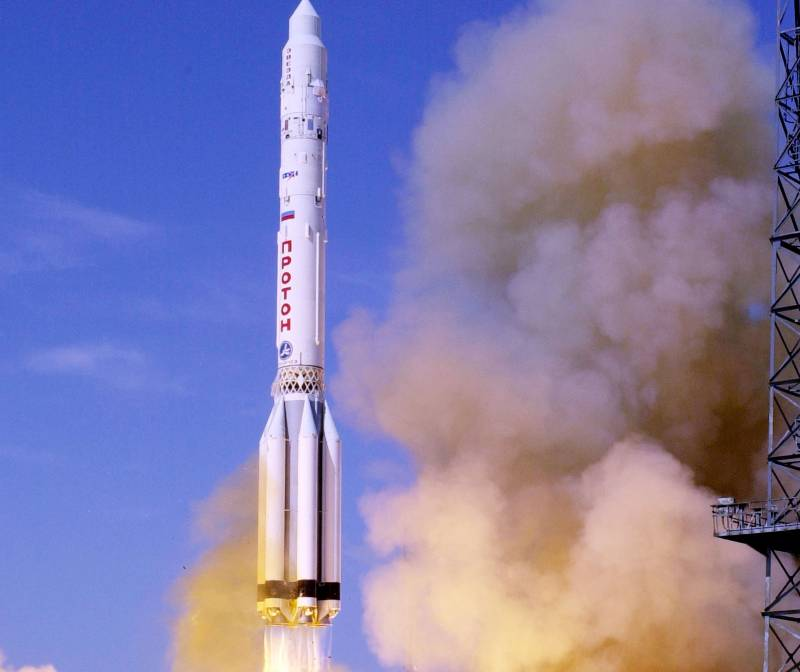 В интересах Минобороны. С Байконура стартовала ракета «Протон-М»