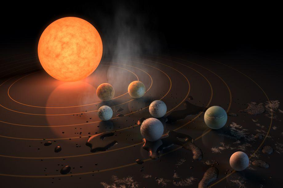 В чём важность открытия НАСА звёздной системы TRAPPIST-1