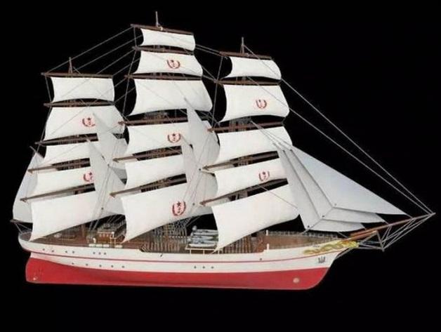 Новые учебные корабли для китайского флота