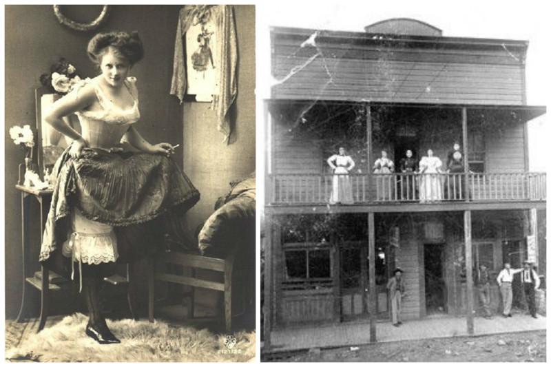 Именно салуны были местом работы разбитных девиц, много повидавших на своём веку, не боявшихся ни бога, ни чёрта. девушки, дикий запад, интересное, салун, старые фото