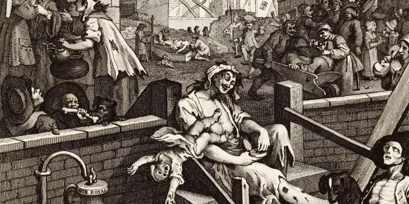 10. Дьявольская вода Георгианская эпоха, англия, британия, великобритания