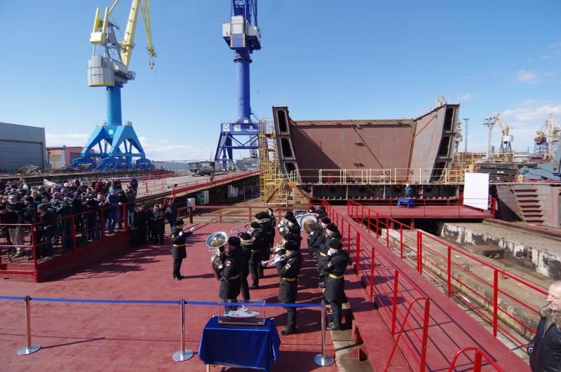 «Боевой ледокол» российского флота: корабль проекта 23550