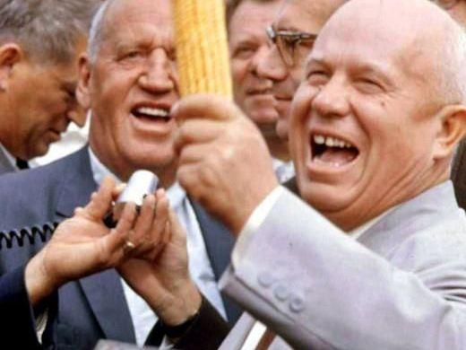 Пулемётчик, лектор Бумагин против кукурузы