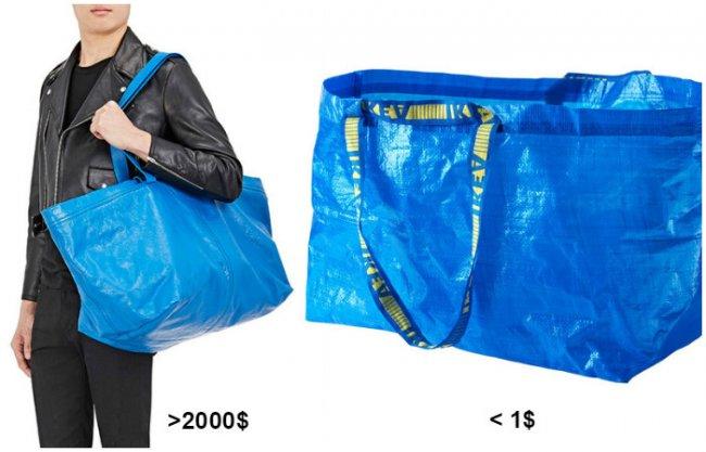 Сумка из IKEA за 2000 долларов