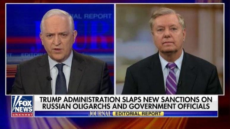 Сенатор Грэм: будь моя воля, я бы наложил санкции и на Путина