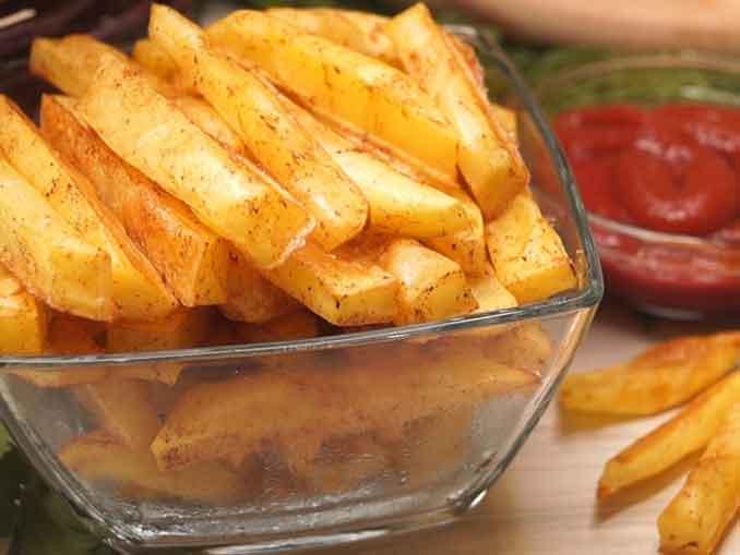 Картошка Фри без грамма масл…