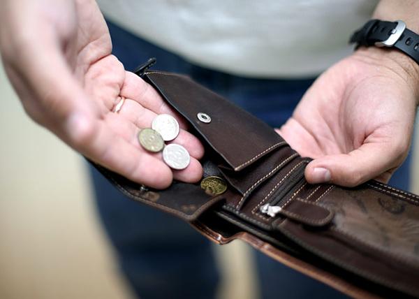 кошелек, мелочь, зарплата, долг(2016)|Фото: punkt-a.info