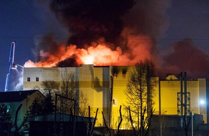 Крупные пожары в торговых це…