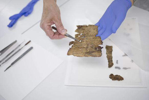В свитках Мертвого моря нашли скрытые тексты