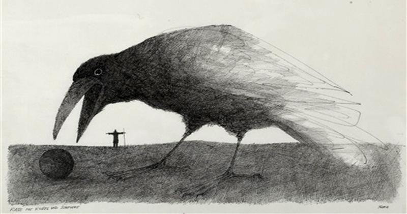 Вдохновленный воронами: талантливый иллюстратор Пол Флора