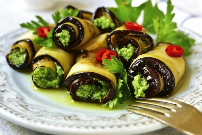 Закуски овощные - это лучшее украшение стола готовка, еда, идеи, кухня, рулеты
