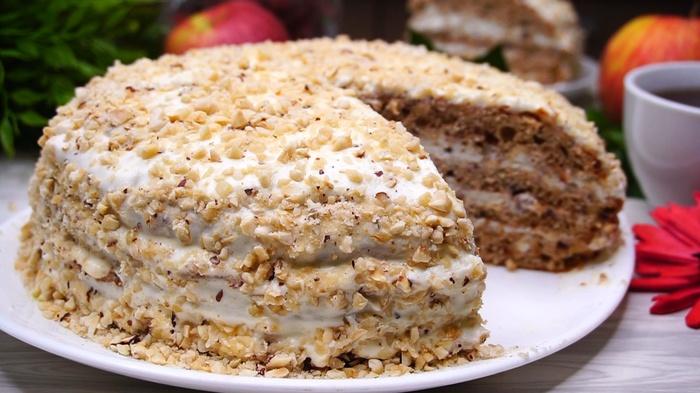 Торт «Белочка» Торт, Рецепт, Еда, Выпечка, Видео, Видео рецепт, Длиннопост