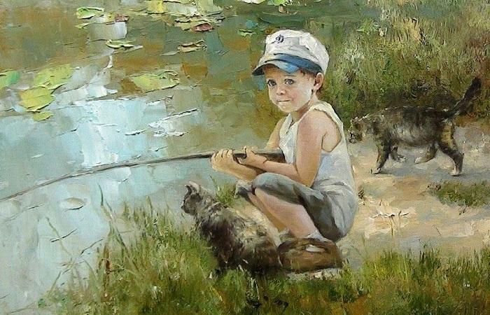 Удивительный мир детства, застывший во времени на картинах художницы Инессы Морозовой