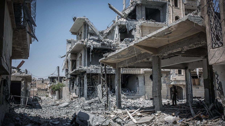 Показали силу и ушли: «немощный» удар по Сирии выдал страх США перед Россией