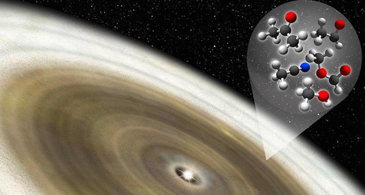 На ледяной орбите соседней звезды найдена органика