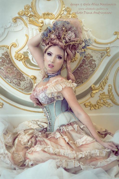 Девушки барокко, рококо