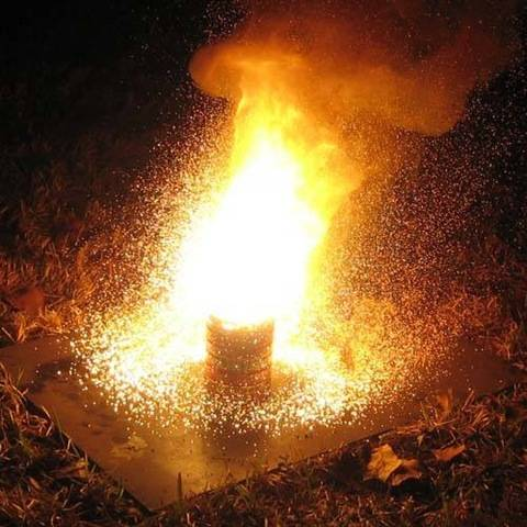 Ручная фугасно-зажигательная граната