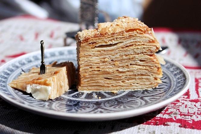 Торт крепвиль рецепт фото
