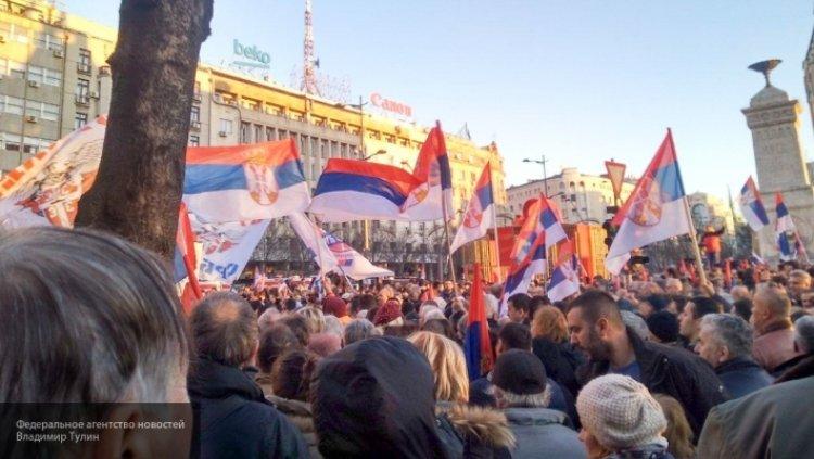 Соловьев рассказал, какой сценарий сейчас разворачивается в Белграде.