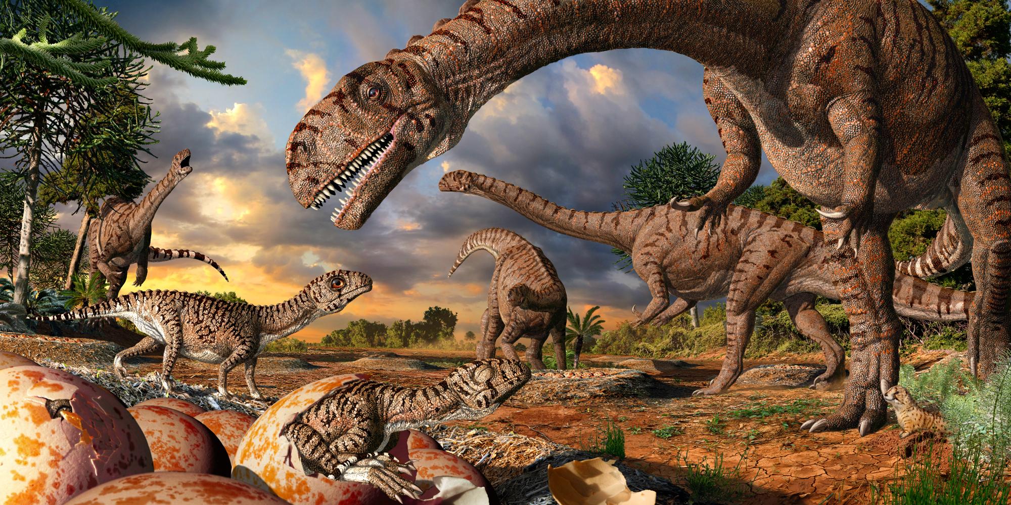 Вымирание динозавров: хронология событий