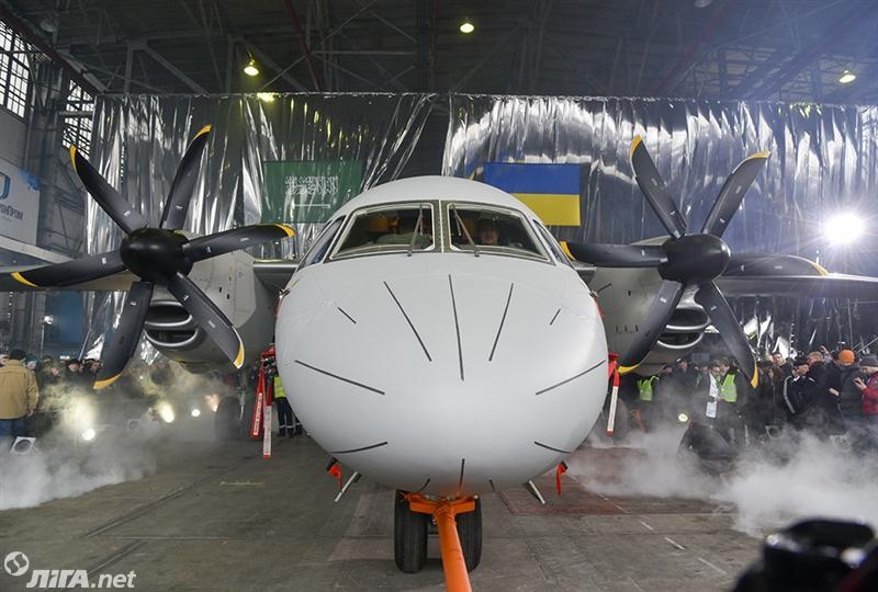 Состоялась выкатка украинского самолета-демонстратора Ан-132D