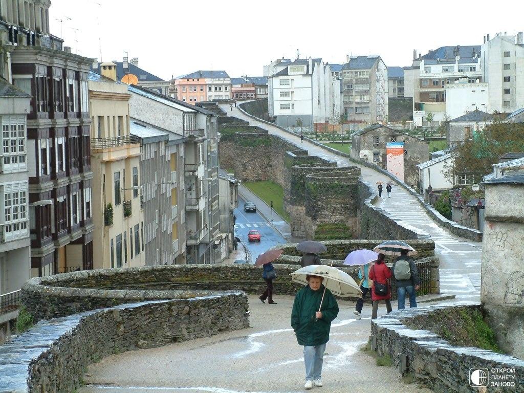 Испанский городок Луго