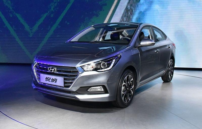 В Китае официально представлен Hyundai Solaris нового поколения