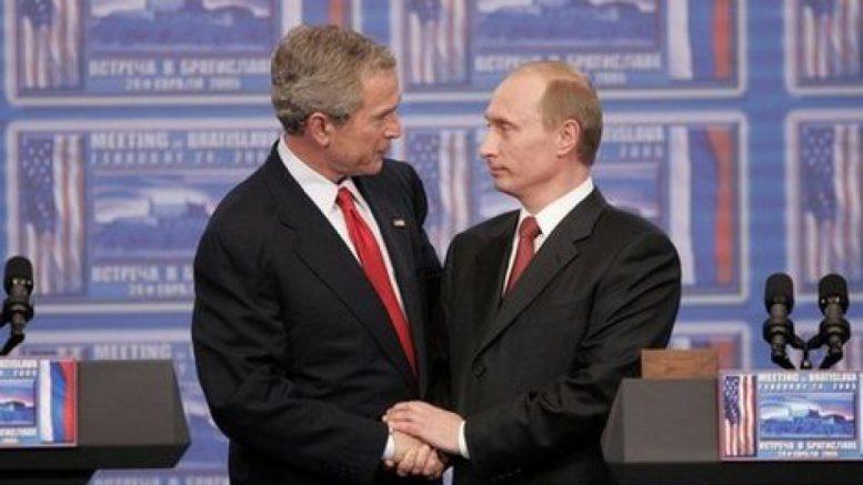 Буш-младший рассыпался в ком…