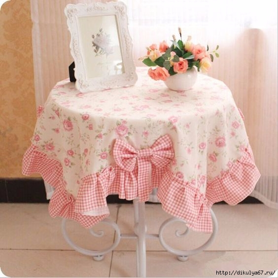 Декор интерьера. Чехлы и скатерти для кухни
