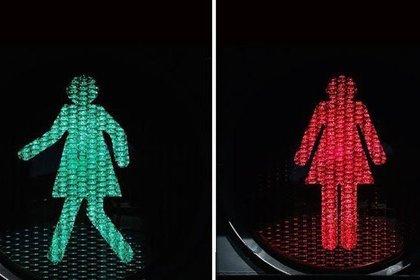 «Женские» светофоры появились в Австралии