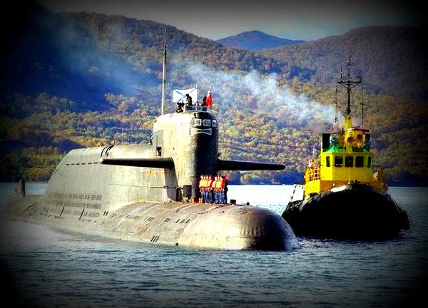 Как русский сейнер корабли НАТО от нашей АПЛ отгонял