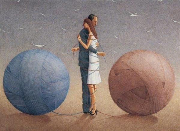 Картины-притчи художника и философа Гурбуза Эксиоглу
