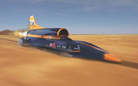 Им бы в небо – самые быстрые автомобили Земли